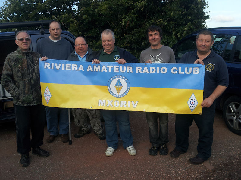 Riviera ARC members at Gallows Gate