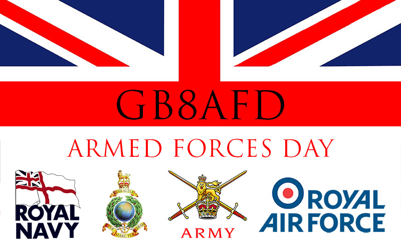 GB8AFD Armed Forces Day